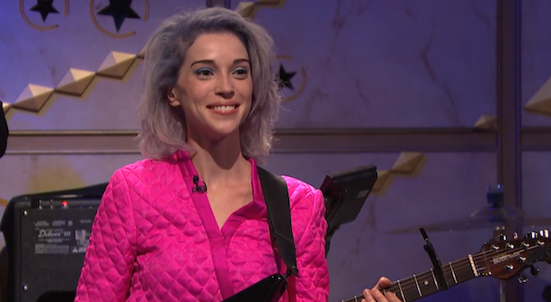 Watch St. Vincent Play 8G Bandleader, Strand Of Oaks Perform On Seth Meyers