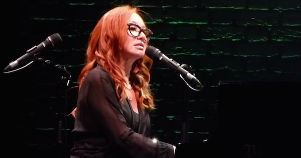 "Watch Tori Amos Cover Radiohead's ""Creep"" In NYC"