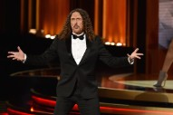 Watch Weird Al Make Up TV Theme Song Lyrics On The Emmys