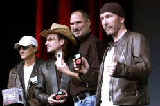 Apple Computer And U2 Celebrate New iPod Release