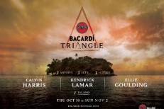 Kendrick Lamar's Playing The Bermuda Triangle On Halloween