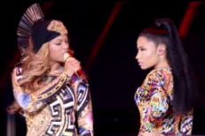 "Watch Nicki Minaj Join Beyoncé On ""Flawless"" Live In Paris"