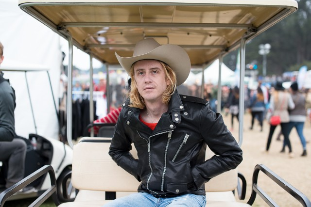 Christopher Owens at Outside Lands 2014