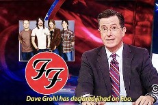 Colbert Explains Obama's ISIS Strategy In Terms Grunge Fans Can Understand