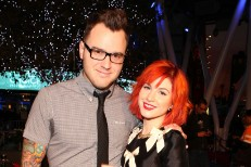 Paramore's Hayley Williams and New Found Glory's Chad Gilbert