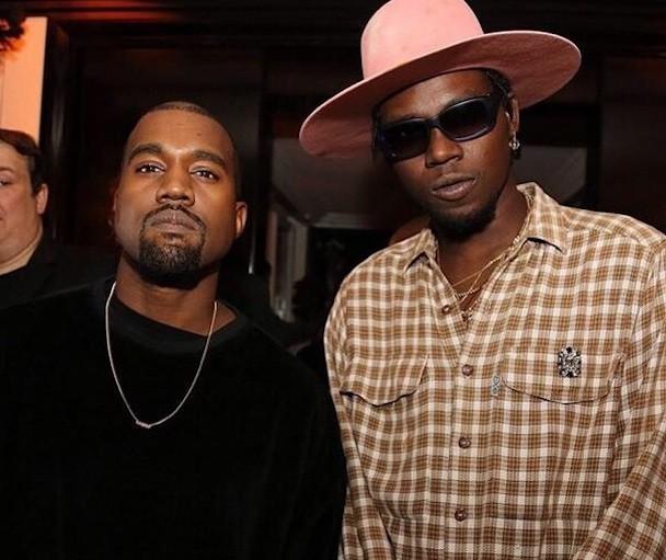 Kanye West and Theophilus London