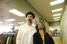 Krist Novoselic and Aaron Burkhard