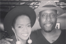 Lauryn Hill and Talib Kweli