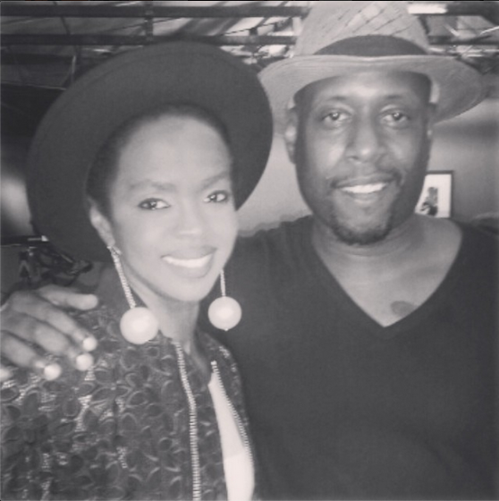 Lauryn Hill and Talib Kweli