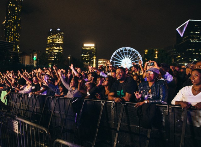 Photos: OutKast @ Centennial Olympic Park, Atlanta 9/26/14