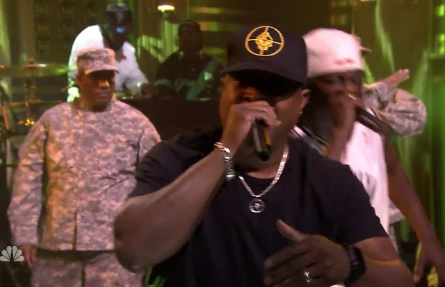 Public Enemy on The Tonight Show