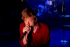 Watch Spoon Get Up Close And Personal On <em>Letterman</em>