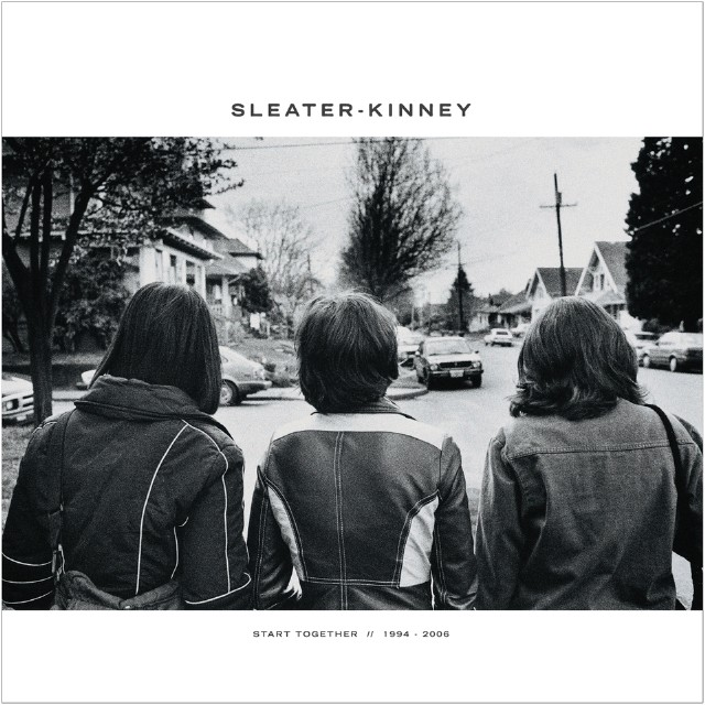 Sleater-Kinney - Start Together cover
