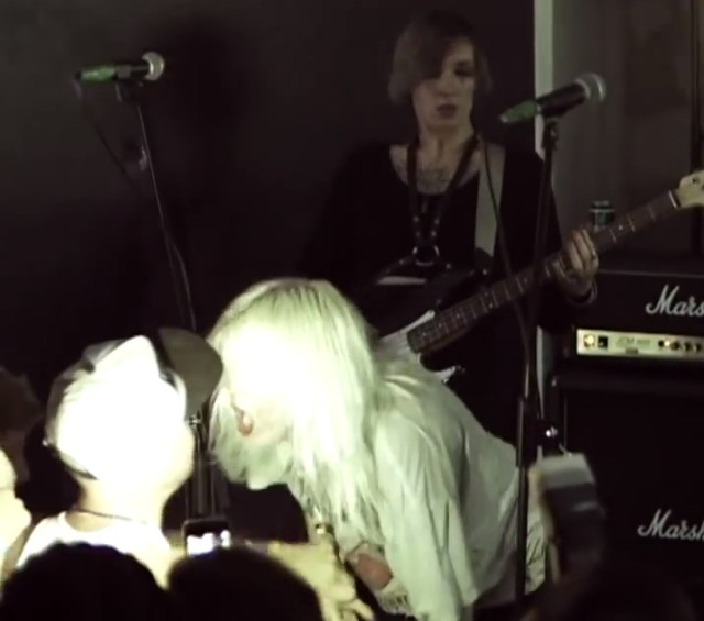 White Lung fight