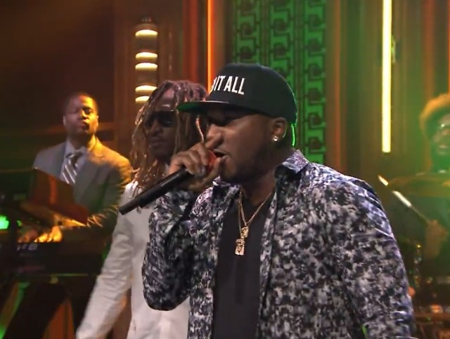 Young Jeezy on The Tonight Show