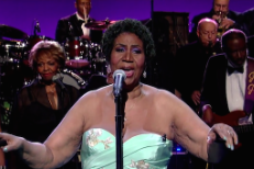 "Watch Aretha Franklin Cover Adele's ""Rolling In The Deep"" On Letterman"