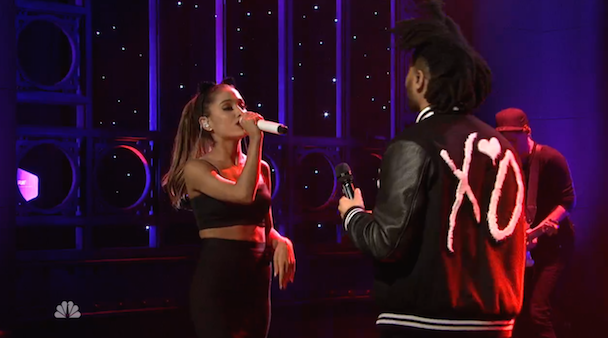 Watch Ariana Grande & The Weeknd Play SNL's 40th Season Premiere