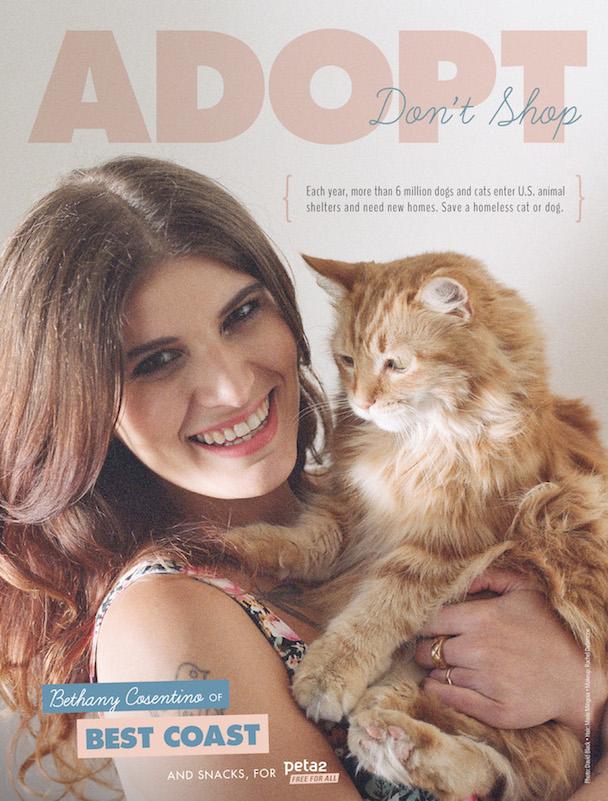 Best Coast PETA Ad