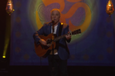 "Watch Paul Simon Cover ""Here Comes The Sun"" And Remember George Harrison On Conan"