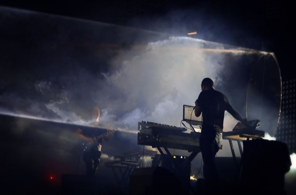 Watch Darkside Perform At Their Final Show