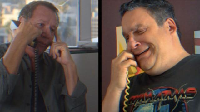 Gary Shandling & Jeff Garlin In Ryan Adams Commercial