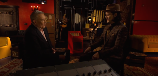 Watch Jack White's Hour-Long Interview With Dan Rather