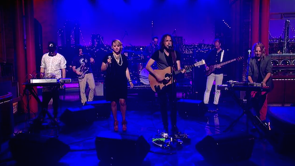 Watch Kevin Drew Play Letterman With Stars' Amy Millan