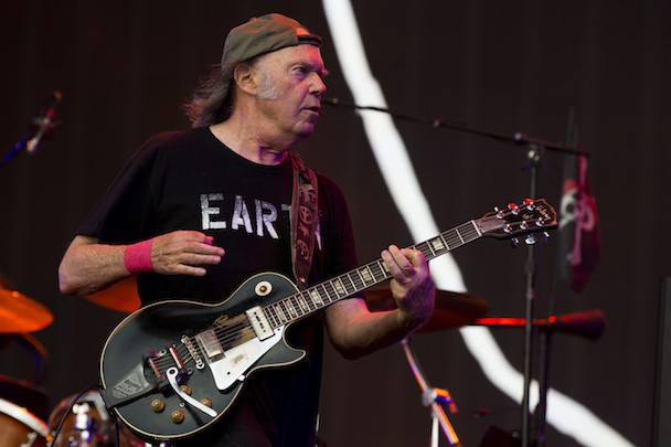 Neil Young Orchestral Album Storytone Rumored For November