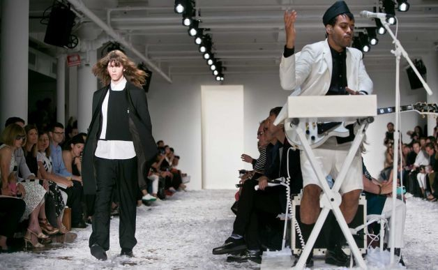Twin Shadow Performs At Public School's Spring '15 NYFW Runway Show