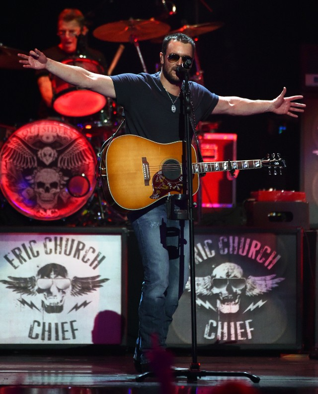 Eric Church, via Getty