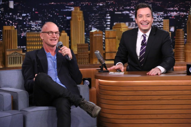Sting On The Tonight Show Starring Jimmy Fallon