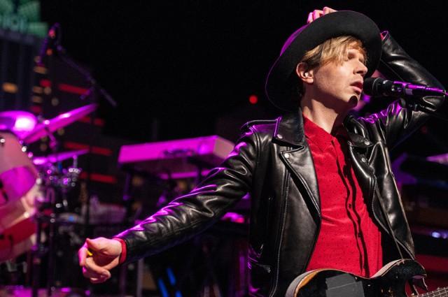 Beck on Austin City Limits (photo by Scott Newton)