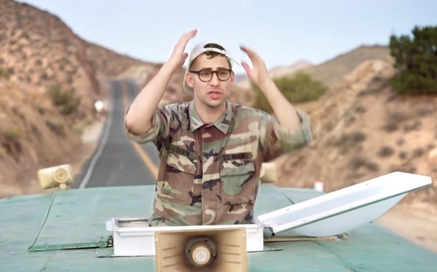 "Bleachers - ""Rollercoaster"" video"
