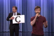 Daniel Radcliffe on The Tonight Show