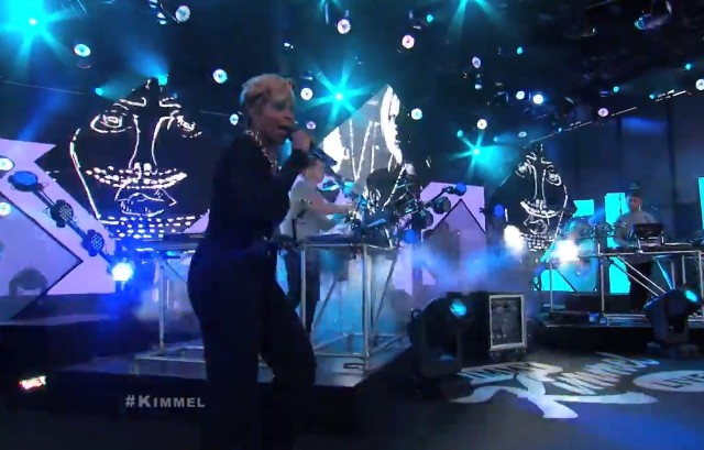 Disclosure and Mary J. Blige on Kimmel