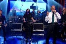 Foo Fighters and David Letterman
