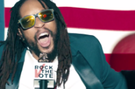 "Watch Lil Jon, Fred Armisen, Devendra Banhart, & Lena Dunham In A ""Turn Out For What"" Voting PSA"