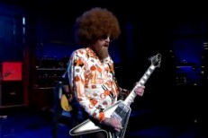 Mastodon on Letterman