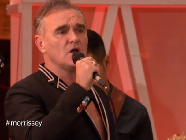 Watch Morrissey Play Italy's Gazebo In His First TV Appearance Of The Year