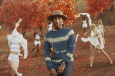 "Pharrell - ""Gust Of Wind"" video"