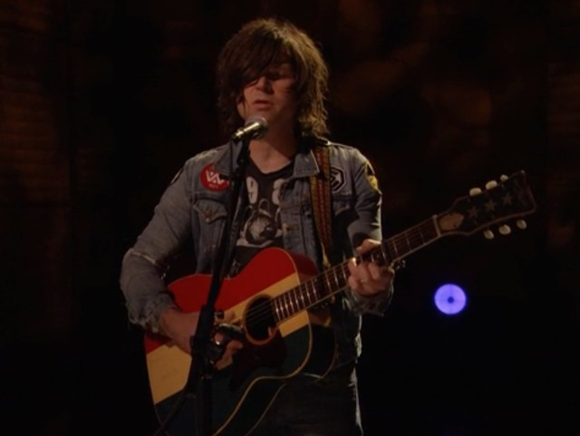 Ryan Adams on Conan