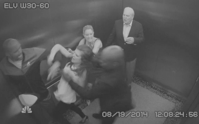 SVU elevator fight