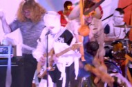 Watch Screaming Females Play <em>Pancake Mountain</em> In Toilet Paper Mummy Costumes