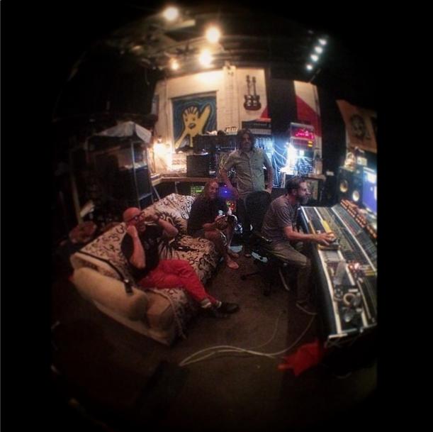 Tool in the studio