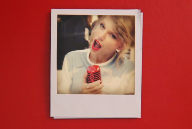 Taylor Swift Target commercial