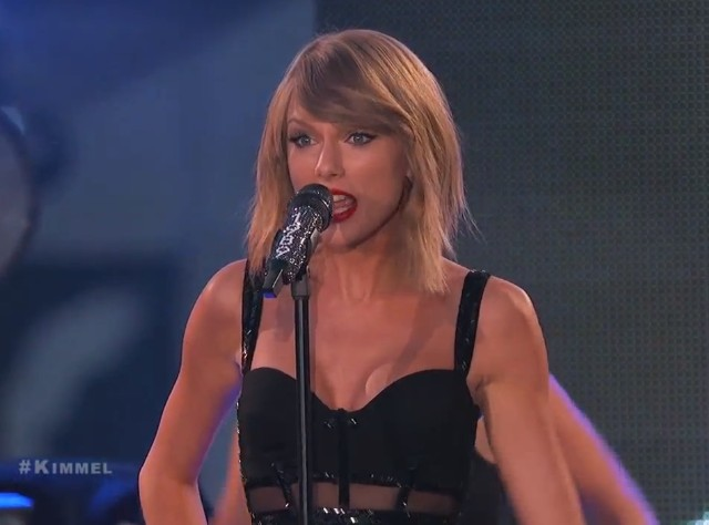 Taylor Swift on Kimmel