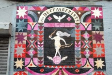 The Decemberists street mural