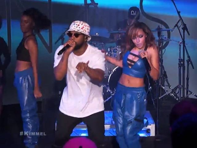 Tinashe on Kimmel