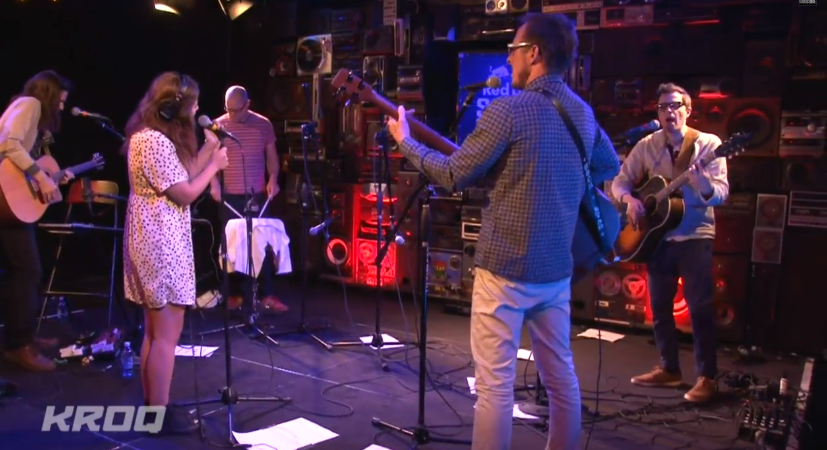 """Watch Weezer & Bethany Cosentino Play """"Go Away"""" On The Kevin"""
