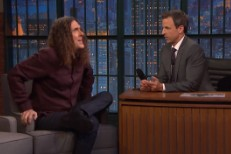 Weird Al Yankovic on Seth Meyers